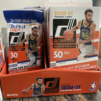🔥SALE! 2021 Donruss Basketball Blaster Or Hanger Boxes Cello or Single Packs🔥
