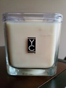 Yankee Candle Rice Milk YC Collection 15.8oz Large 2 Wick Square Jar 1st Quality