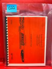 The Getaway High Speed Ii 2 Pinball Operation/Service/Repair Manual Williams G22
