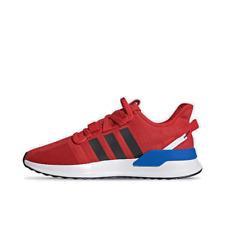 Men's adidas U_Path Run Casual Shoes Red/Core Black/Blue/Cloud White EG7801 621