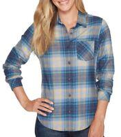 Pendleton Women's Long Sleeve Plaid Flannel Shirt Variety