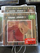 RCA LIVING STEREO SACD Hybrid HEIFETZ: BRUCH VIOLIN CONCERTO & VIEUXTEMPS New