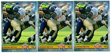 1993 Classic NFL Draft Football #10 Jerome Bettis Notre Dame/Rams Lot of 3 Cards