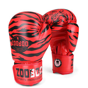 10 oz Boxing Gloves for Men, Youth, and Women, Tiger Boxing Gloves Punching Bag