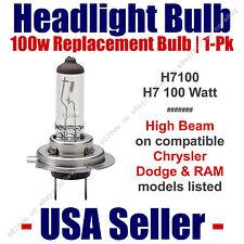 Headlight Bulb High Beam 100 Watt Upgrade 1pk Fits Chrysler Models Listed H7 100