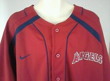 Anaheim Los Angeles Angels Nike Authentic Jersey Red Size XL