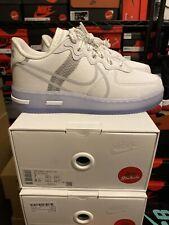 DS Size 5.5 6.5 11** 12 12.5  Nike Air Force 1 React White Light Bone CQ8879-100