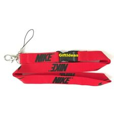 Nike Lanyard Detachable Keychain iPod Camera Strap Badge ID RBlack