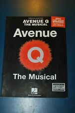 Avenue Q: The Musical-Piano Vocal Selections sheet music book piano guitar
