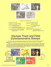 #9134 29c Olympic Track Stamps #2553-2557a USPS Souvenir Page