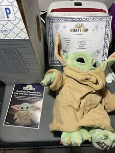 Build-A-Bear The Child Star The Mandalorian Baby Yoda w/ 5-in-1 Sounds Star Wara