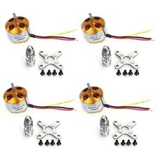 4Pcs A2212 1000KV 13T Brushless Outrunner Motor W/ Mount for RC Drone F02015-4
