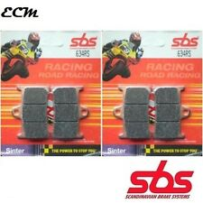 YAMAHA YZF 600 R6 (Radial Caliper) 2008 634RS SBS RACING SINTER FRONT BRAKE PADS