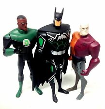 "DC Comics Justice League 5 ""CARTOON cifre x 3 Batman, LANTERNA, METAMORPHO"