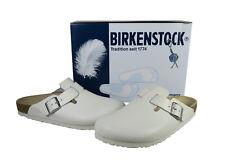 Birkenstock Boston Clog Hausschuhe Clogs Pantoletten Glattleder Leder G.44*NEU*