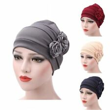 Women Hijab Turban Hat Lady Cancer Chemo Hair Loss Cap Head Scarf Wrap Cover