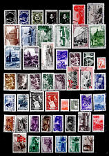RUSSIA: 1940'S STAMP COLLECTION WITH SETS