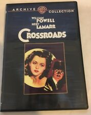 Crossroads DVD 1942 William Powell Hedy Lamarr Warner Archive Collection RARE