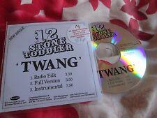 12 Stone Toddler TWANG  Amazon Promo UK CD Single