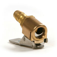 Metal Brass Car Truck Tire Tyre Inflator Clip-on Valve Connector Air Chuck 6mm