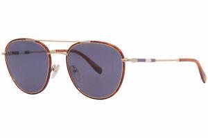 Lacoste Novak-Djokovic L102SND 714 Sunglasses Men's Gold-Havana/Blue Lenses 53mm