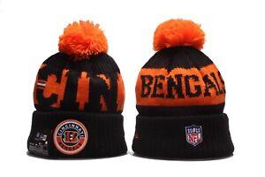 New Era Cincinnati Bengals Knit Beanie Hat NFL