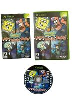 SpongeBob SquarePants: Lights, Camera, Pants! - Original Xbox Game - Complete