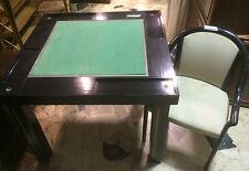 Tavolo da gioco vintage con 4 poltroncine anni 70/80