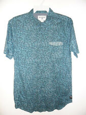 BILLABONG Men's HATCHES S/S Button Shirt - HYD - Medium - NWT