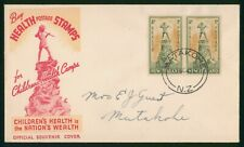Mayfairstamps New Zealand 1945 Health Stamps Matakohe first Day Cover wwp79871
