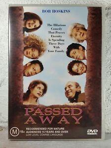Passed Away (DVD, 2004) RARE Region 4 AU/NZ