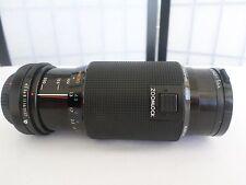 Kiron Lens 80-200mm f/4.5 Macro 1:4 Tiffen 55mm HAZE-1 Canon Film Camera & Caps