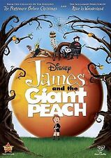 James And the Giant Peach DVD - Region 2 Compatible DVD NEW *FREE FAST DELIVERY*