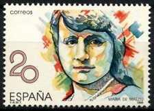 Spain 1989 SG#3003 Maria De Maeztu MNH #D64438