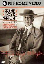 Frank Lloyd Wright 0841887051378 With Edward Herrmann DVD Region 1