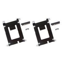 2x For Dell Latitude E5420 E5520 HDD Hard Driver Caddy Holder +Connector