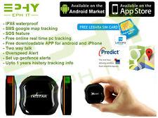 Mini Echtzeit Auto GPS Tracker Fahrzeug Spy Versteckt Ortungsgerät