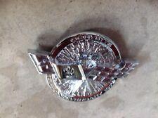78 corvette emblem all chrome
