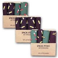 JACK PYKE HANDKERCHIEF HANKY 4 PACK SET HUNTING SHOOTING OUTDOORS