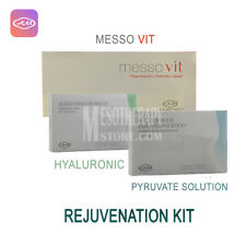 Armesso Rejuvenation Kit Mesotherapy Hyaluronic Piruvate Messo Vit Anti Aging