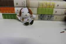 Peluche Portachiavi Cagnolino maculato  little dog  keychain 12 cm