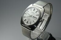 Vintage 1970 JAPAN SEIKO LORD MATIC WEEKDATER 5606-7130 23Jewels Automatic.