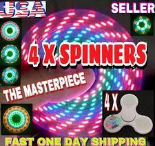 4 X PATTERNS LED TRI SPINNER FIDGET,11 LED 32 PATTERNS ,CHRISTMAS GIFT
