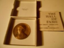 Frances E. Willard NYU Hall of Fame for Great Americans Medallic Art Co Medal