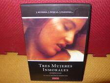 TRES MUJERES INMORALES - WALERIAN BOROWCZYK - DVD