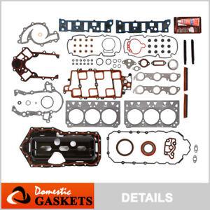 Fits 95-03 Buick Regal Chevrolet Monte Carlo 3.8L 1st 2nd Design Full Gasket Set