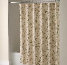 NEW Ivy Vine Leaves Fabric Shower Curtain