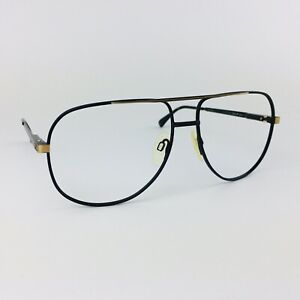 SAFILO eyeglasses MATT BLACK ROUND AVIATOR glasses frame MOD: SPORTING 105/P