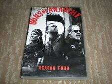Sons of Anarchy Season 4-4 disks Katey Sagal, Charlie Hunnam, Ron Perlman