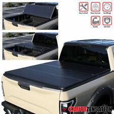 """2004-2015 Ford F150 5.5ft 5' 6"""" Curto Cama Hard Tri-fold Tonneau Capa 1PC"""